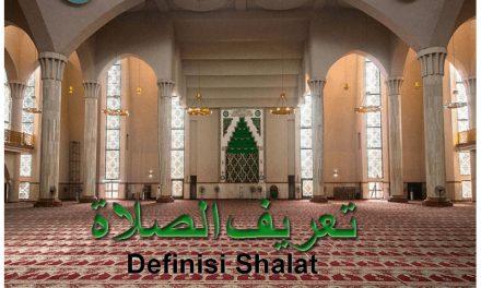 (1). Definisi Shalat dan Hukum Shalat