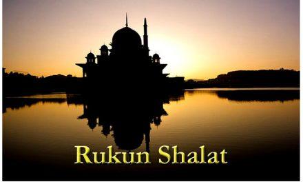 (3). Rukun Shalat
