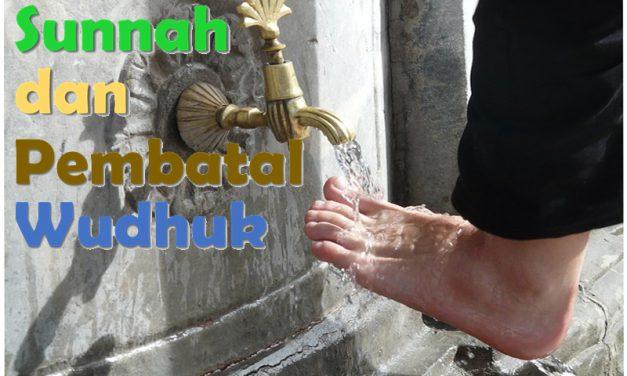 (4). Sunnah-Sunnah dan Pembatal Wudhuk